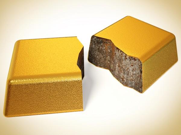 Lingot d'or et tungstène : Pas d'inquiétude à avoir