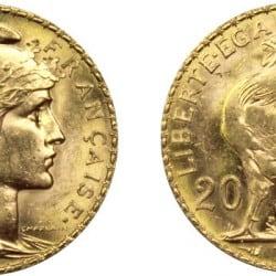 20 francs Marianne coq : détails