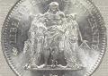 50 Francs Hercule Argent : description