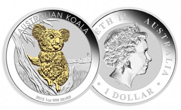 Koala Or / Argent 2015 1oz