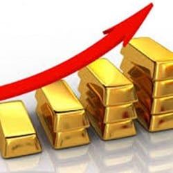 Le cours de l'or à la hausse