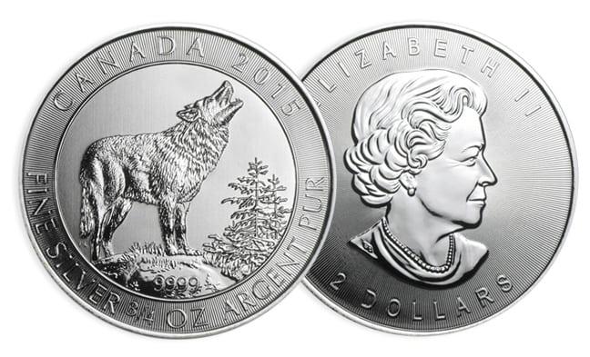 3/4 oz Argent Grey Wolf