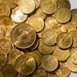 Investir dans différentes pièces en or