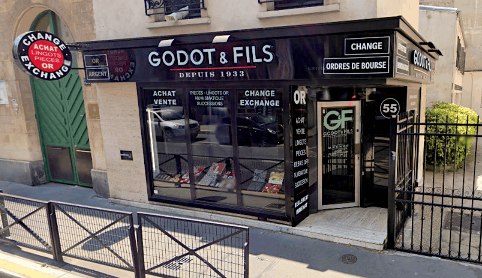 Godot et Fils rue de la pompe 75016