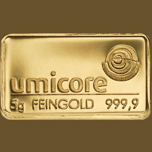 Pourquoi investir dans un lingotin en or plutôt qu'un lingot ?
