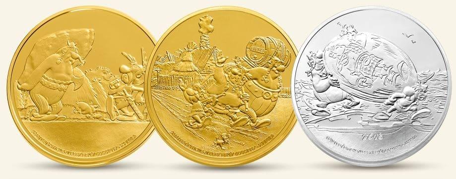 Monnaie de Paris : une collection de pièces Astérix