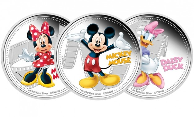 Once d'argent : nouvelle collection mettant à l'honneur Disney
