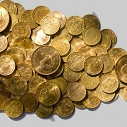 Fiscalité sur l'or de bourse
