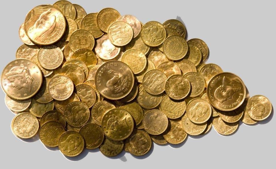 photo vente piece en or